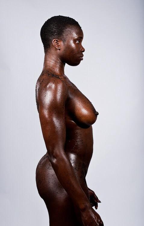 افريقية زنجية سوداء